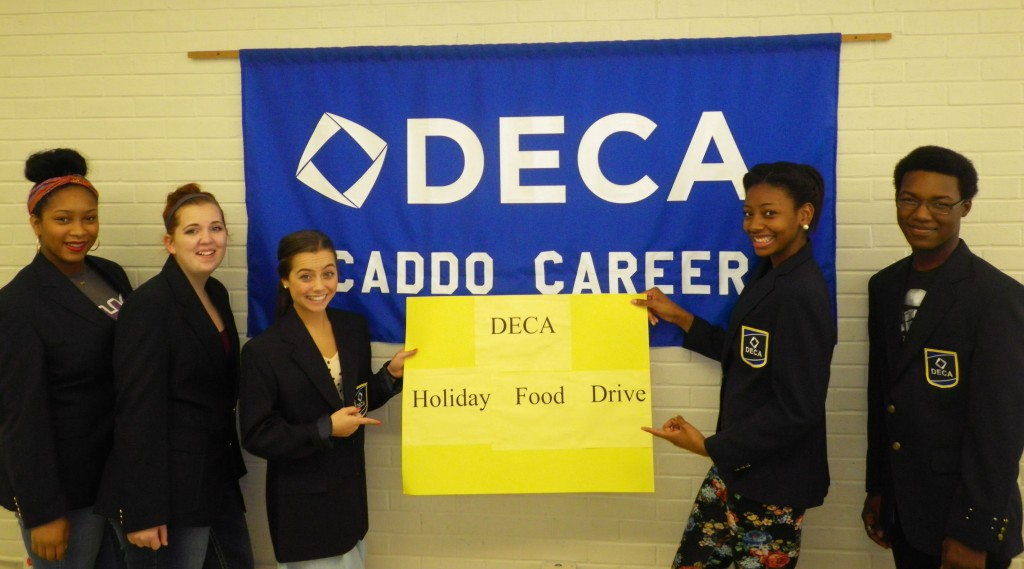 DECA Holiday Food Drive