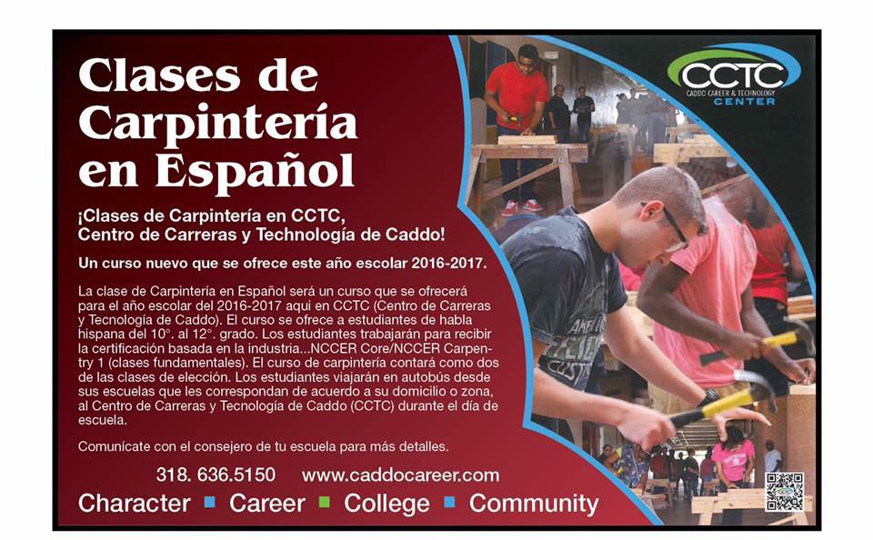 spanish carpentry flyer in spanish